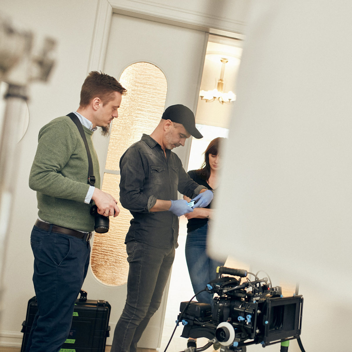 BTS FROM LATEST FILM PRODUCTION