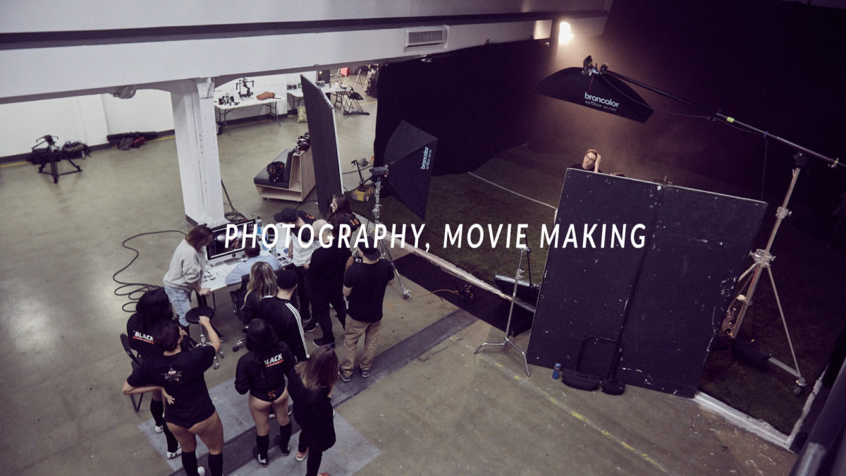 photography, movie making